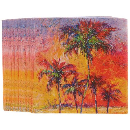 Leoma Lovegrove Parade of Palms Paper Napkins