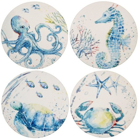 Coastal Home 4-pc. Seaventure Coasters