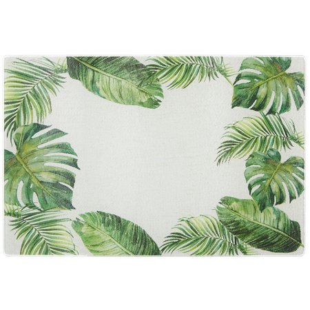Coastal Home Small Palm Tree Glass Cutting Board