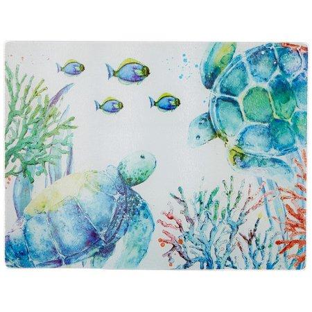 Coastal Home Seaventure Turtle Cutting Board