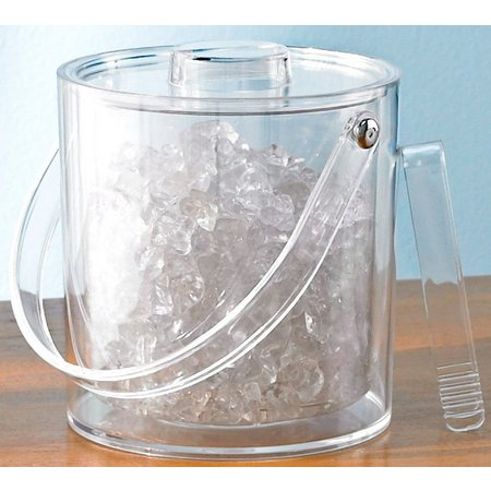Tropix Ice Bucket With Tongs