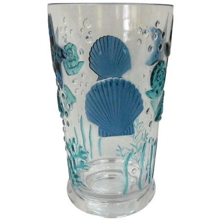 Coastal Home Sea Life Highball Glass