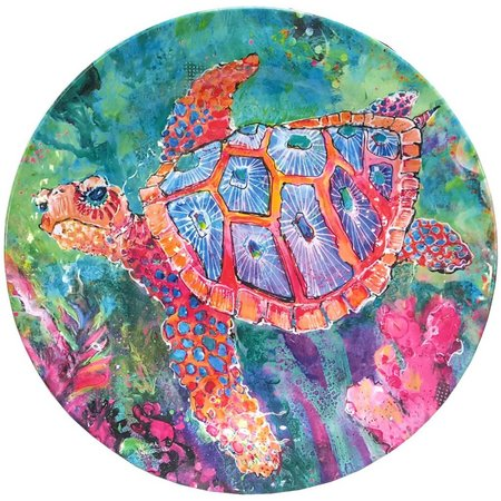 Leoma Lovegrove Le Chaperone Turtle Dinner Plate