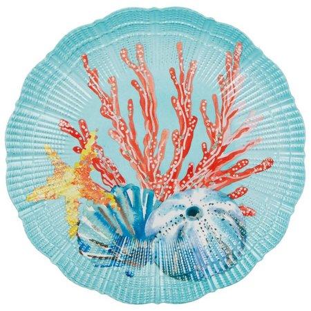 Coastal Home Aquatica Salad Plate