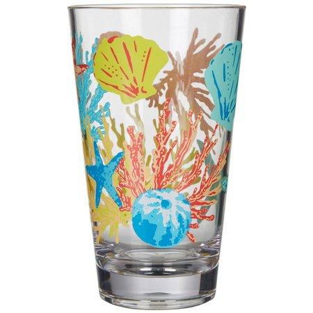 Coastal Home Aquatica Shell Highball Glass