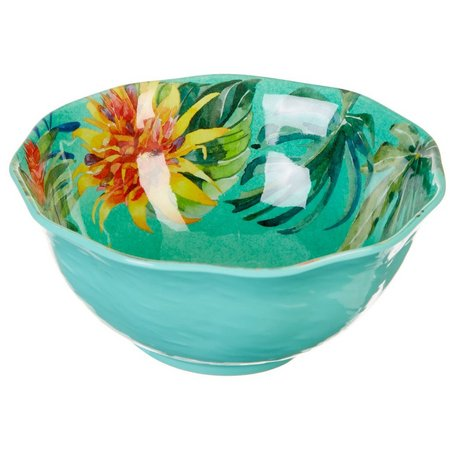 Coastal Home Tropical Birds Appetizer Bowl