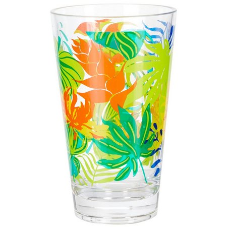 Coastal Home Tropical Birds Highball Glass