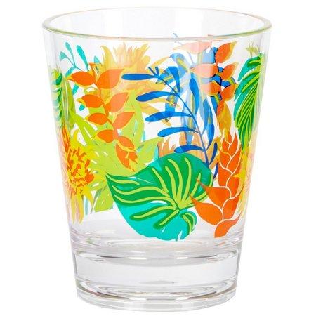 Coastal Home Tropical Birds DOF Glass