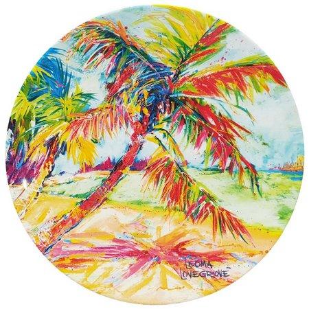 Leoma Lovegrove Palms Away Appetizer Plate