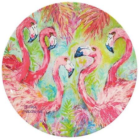 Leoma Lovegrove Pink Power Appetizer Plate