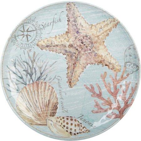 Coastal Home Captiva Starfish Dinner Plate