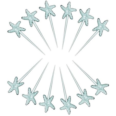 Coastal Home Captiva 12-pc. Starfish Picks
