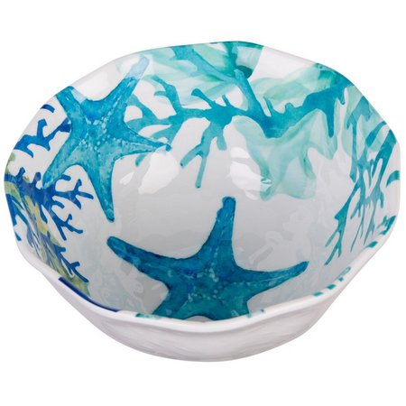 Coastal Home Sea Life Tidbit Bowl