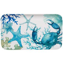 Coastal Home Sea Life Tidbit Tray