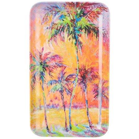 Leoma Lovegrove Parade of Palms Tidbit Tray