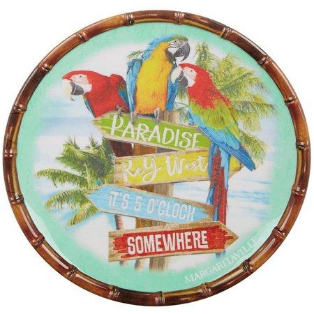 Margaritaville Parrot Salad Plate