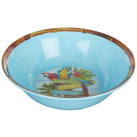 Margaritaville Parrot Cereal Bowl