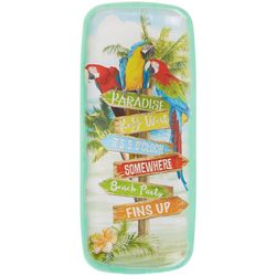 Margaritaville Parrot Oblong Serving Tray