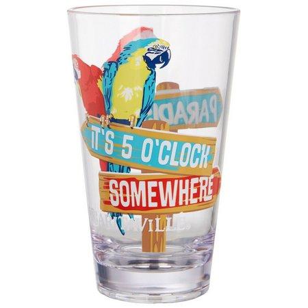 Margaritaville Parrot Highball Glass