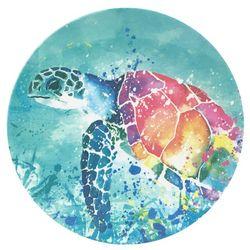 Tropix Splash Sea Turtle Appetizer Plate