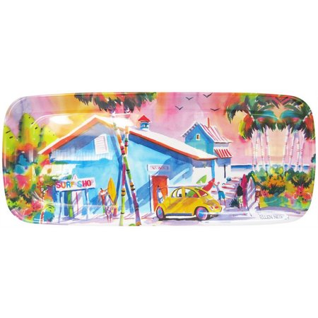 Ellen Negley Board Short Boogie Oblong Tray
