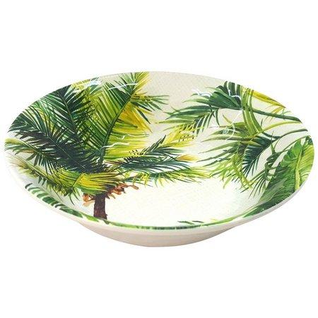 Coastal Home Palm Tree Cereal Bowl