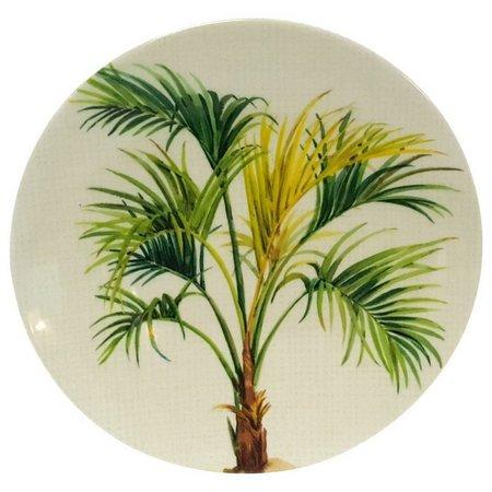 Coastal Home Palm Tree Top Appetizer Plate