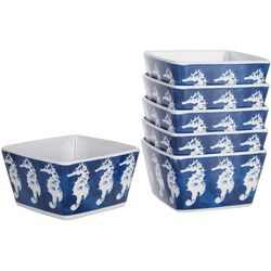 Coastal Home 6-pc. Seahorse Tidbit Bowl Set