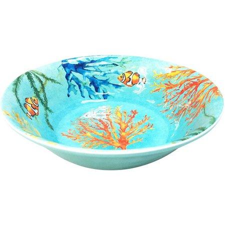 Coastal Home Creature Comfort Blue 8'' Bowl