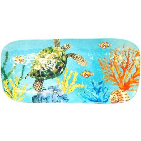 Coastal Home Creature Comfort Blue Tray