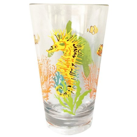 Coastal Home Creature Comfort Highball Glass
