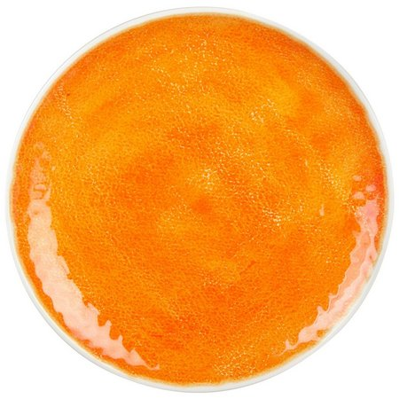 Coastal Home Creature Comfort Orange Ripple Plate