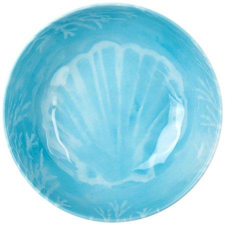 Coastal Home Seaventure Blue Serving Bowl