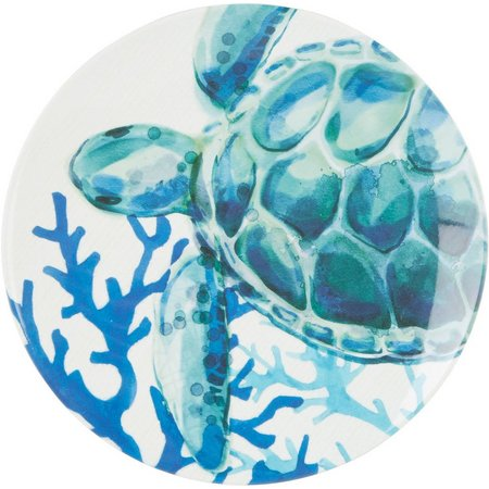 Coastal Home 20,000 Leagues Turtle Appitizer Plate