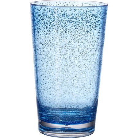 Coastal Home 20,000 Leagues Blue Highball Glass