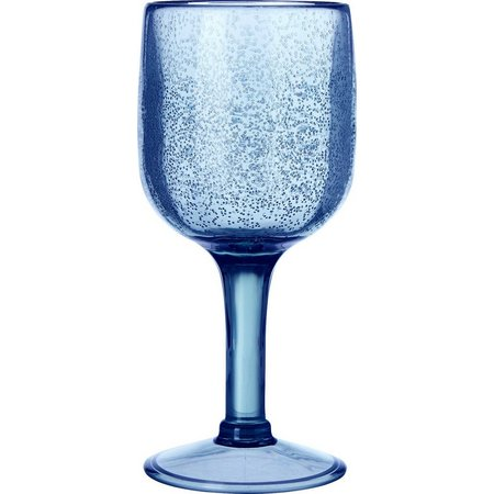 Coastal Home 20,000 Leagues Blue Goblet