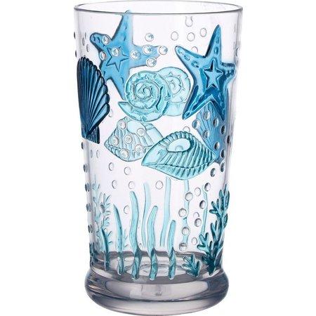 Coastal Home 20,000 Leagues Highball Glass