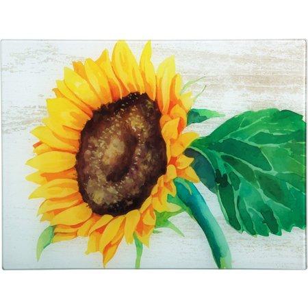Home Essentials Sunflower Cutting Board