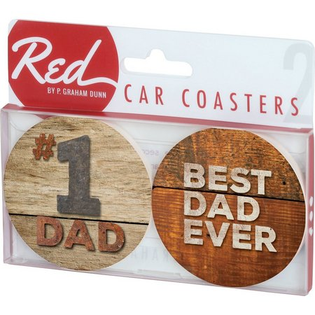 P. Graham Dunn 2-pc. Best Dad Ever Car