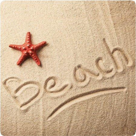 P. Graham Dunn Beach Writing Coaster