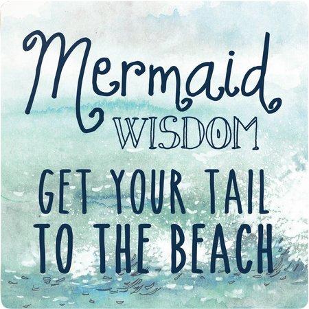 P. Graham Dunn Mermaid Wisdom Coaster