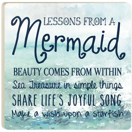 P. Graham Dunn Mermaid Advice Coaster