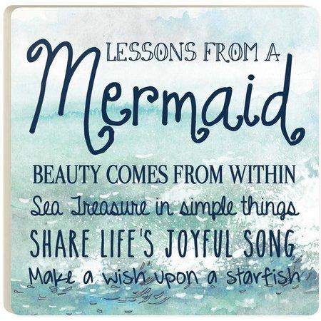 P. Graham Dunn Mermaid Advice Coaster
