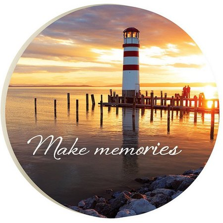 P. Graham Dunn Make Memories Car Coaster