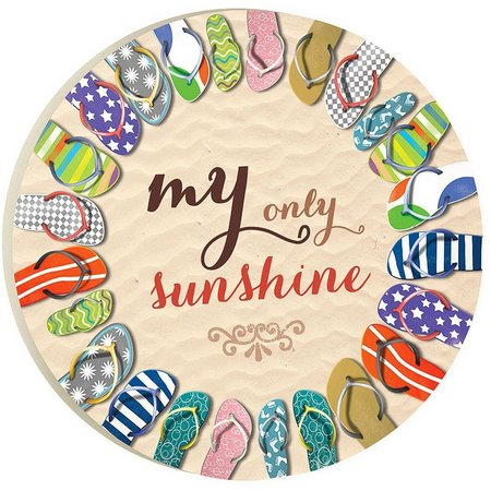 P. Graham Dunn My Only Sunshine Car Coaster