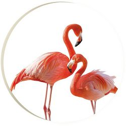 P. Graham Dunn Flamingo Car Coaster