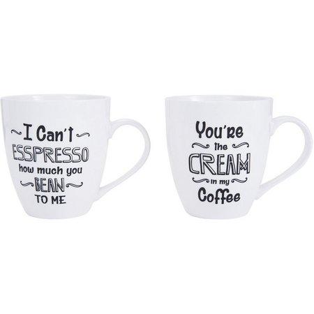 Pfaltzgraff 2-pc. I Can't Espresso Mug Set