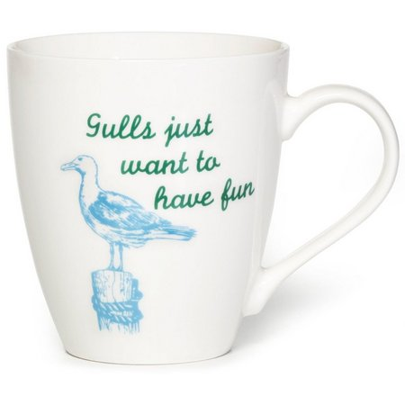 Pfaltzgraff Gulls Just Want To Have Fun Mug