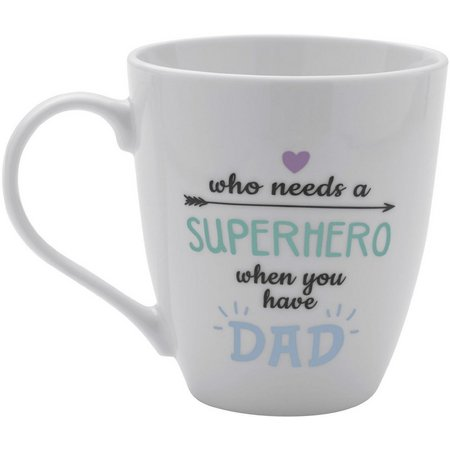 Pfaltzgraff Super Hero Dad Mug