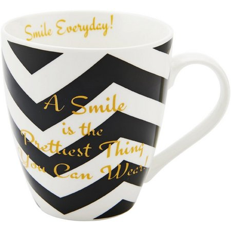 Pfaltzgraff Chevron Pretty Smile Mug